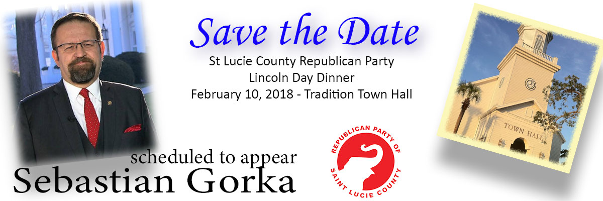 St Lucie Lincoln Day Dinner