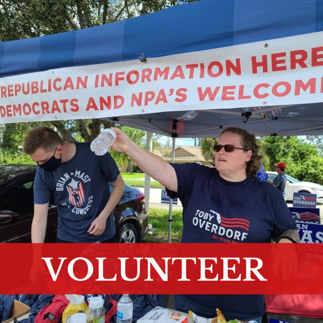 Volunteer for the St. Lucie GOP