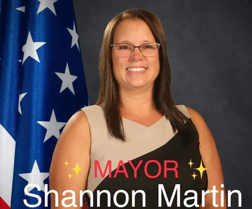 Mayor Shannon Martin